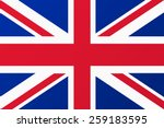 Great Britain, United Kingdom flag.