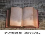 old books  | Shutterstock . vector #259196462