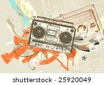 vector illustration of grunge...   Shutterstock .eps vector #25920049
