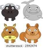 animals | Shutterstock .eps vector #2592474