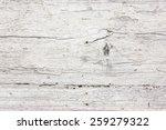 Grunge Peeling White Paint Wood ...