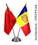 Постер, плакат: China and Andorra