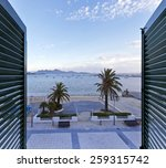good morning view from a window ... | Shutterstock . vector #259315742