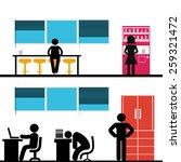 office | Shutterstock .eps vector #259321472