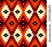 vector seamless ethnic pattern... | Shutterstock .eps vector #259328645