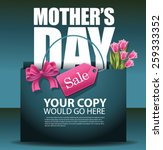 mothers day sale shopping bag... | Shutterstock .eps vector #259333352