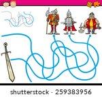 cartoon vector illustration of... | Shutterstock .eps vector #259383956