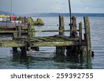 The Old Wooden Pier In Cobh....