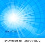 abstract blue background | Shutterstock .eps vector #259394072
