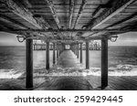 The Underside Of A Pier With...