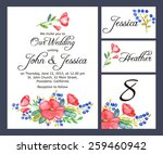 set backgrounds to celebrate... | Shutterstock .eps vector #259460942