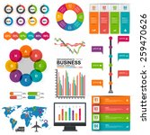 set of infographics vector... | Shutterstock .eps vector #259470626