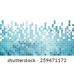 abstract square pixel mosaic... | Shutterstock .eps vector #259471172