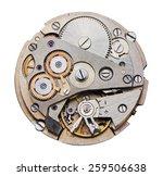 Clock Mechanism With Gears ...