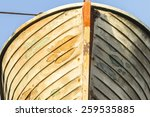 vintage rescue boat old ship... | Shutterstock . vector #259535885