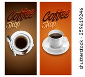 menu coffee shop | Shutterstock .eps vector #259619246