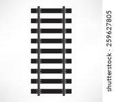 railroad icon | Shutterstock .eps vector #259627805