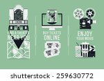magnificent detailed vector... | Shutterstock .eps vector #259630772