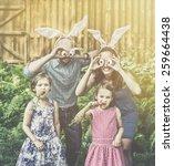 Family Portrait On Easter...