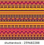 bright vector seamless pattern... | Shutterstock .eps vector #259682288