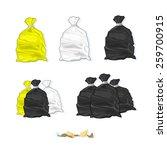 a vector illustration of... | Shutterstock .eps vector #259700915