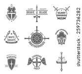 vintage heraldic coat of arms... | Shutterstock .eps vector #259736282