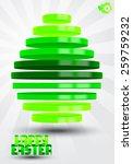 volumetric easter egg from... | Shutterstock .eps vector #259759232
