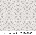 seamless linear pattern with... | Shutterstock .eps vector #259762088