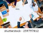 diversity business team... | Shutterstock . vector #259797812