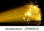 Yellow Fiber Optics Cable Clos...