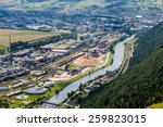 ruzomberok area birds eye view  ...   Shutterstock . vector #259823015