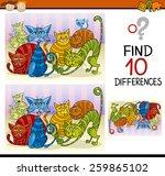cartoon vector illustration of... | Shutterstock .eps vector #259865102