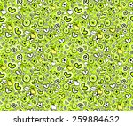abstract seamless background... | Shutterstock .eps vector #259884632