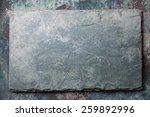 Gray Stone Slate Background...