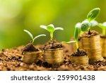 growth  business  money. | Shutterstock . vector #259901438