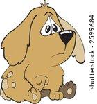 little puppy | Shutterstock .eps vector #2599684