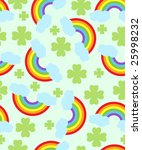 seamless jolly pattern with... | Shutterstock . vector #25998232