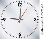time design over white... | Shutterstock .eps vector #259991546