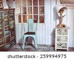 Stylish Interior Corner With...
