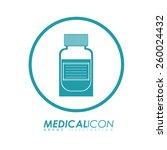 medical design  vector... | Shutterstock .eps vector #260024432