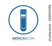 medical design  vector... | Shutterstock .eps vector #260024456