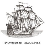 Ship Vector Logo Design...