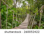 Suspension Bridge  Walkway To...