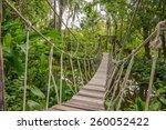 Suspension Bridge  Walkway To...