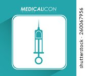 medical design  vector... | Shutterstock .eps vector #260067956
