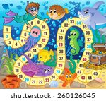 board game image with... | Shutterstock .eps vector #260126045