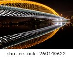 troja bridge in prague.... | Shutterstock . vector #260140622