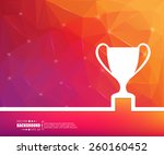 abstract creative concept...   Shutterstock .eps vector #260160452
