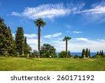livadia palace park  yalta ... | Shutterstock . vector #260171192
