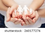 people  charity  family and... | Shutterstock . vector #260177276